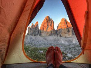 Wie im heißen Zelt schlafen
